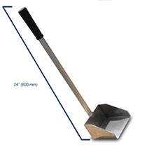 Aluminum concrete scooper
